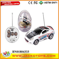 1:63 mini 4CH rc car with light , mini rc car in a can