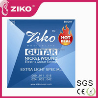 High quality best selling cheap price colored electric acoustic guitar strings