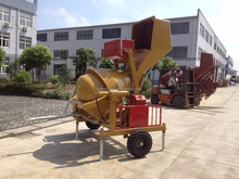 New Condition CONCRETE MIXER MACHINE WITH HYDRAULIC JACK HOPPER LIFT