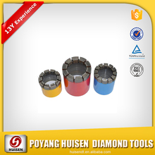 Wireline core drilling Well drilling diamond core bit for concrete