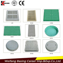Superior Modern Design all kinds of Mechanical Parts Hot Sale rectangular composite cast iron manhole cover price