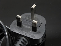 Good After-sales service British UK Mains Male Plug to IEC C5 Female Socket/3 Prong Mickey Mouse Power Cable 13A (amp) 2m