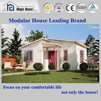 [New Technology] China manufacture modern European style villa prefab kit house modular home