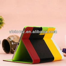 For iPad Mini full Body Smart leather cover,pu leather case