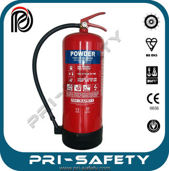 Dry Powder Fire Extinguisher, 9kg Extintor with CE&EN3