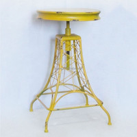 classic vintage adjustable kitchen and bar stool adjustable chair