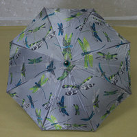 pagoda shaped pg fabric umbrella flower decoration