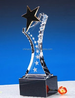 2015 Newest Wholesale 3D k9 Sport Clear Laser Crystal Trophy BNTC-029