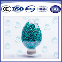 recycled J-90 green cold resistant PVC granules & plastic pellets for power cables compound