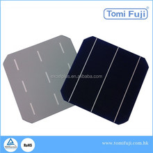 hot sale high efficiency 156mmx156mm 6inch 2BB/3BB monocrystalline/poly solar cells mono solar cell made in Taiwan/Germany
