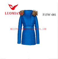 girl and animal sexy down jacket export orders for garments