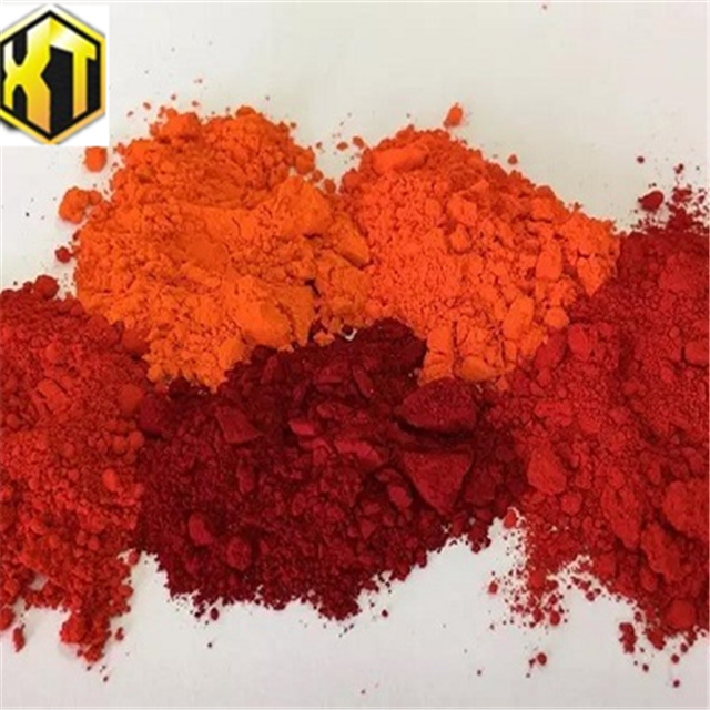 Chemical formula of red oxide color pigment powder for cement