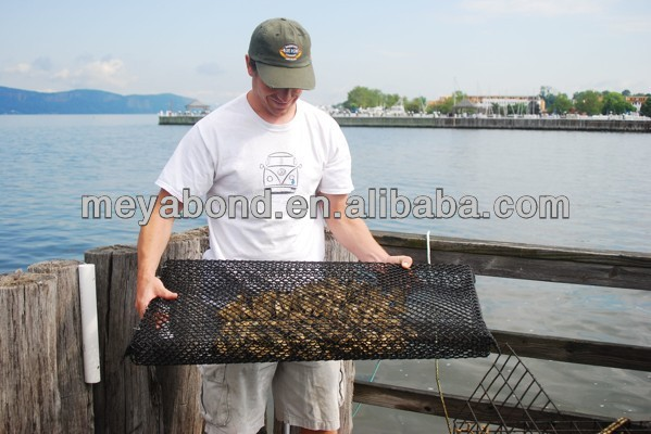 100% New HDPE Fish Cages/Oyster Bag Net/ Oyster Farming