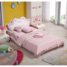 Lovely Pink Princess Girls Bed AE0023-1