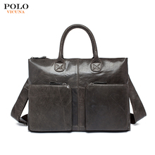 Wholesale Fashion Latest Vintage Custom Designer Purse Messenger Bags For Lawyer Genuine Leather Business Briefcase Laptop Bag