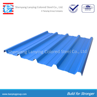 cheap color coated corrugated metal steel sheet YX840/1050