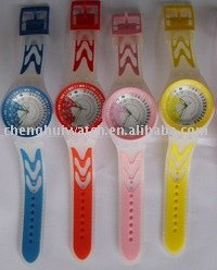 sports wrist band watch cute children watch custom kids plastic watches (CH9043A)