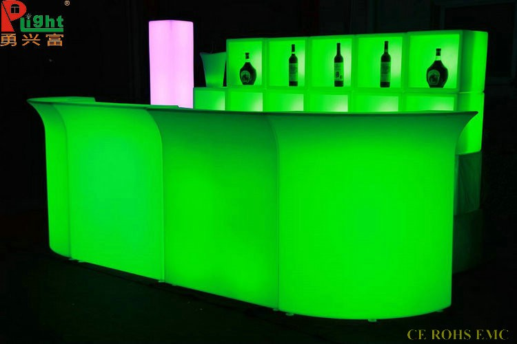 led illuminated furniture used commercial bar sale glowing led bar counter