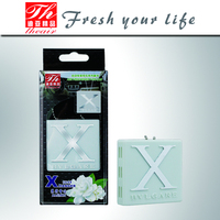 Auto accessories gel plastic hanging car air freshener