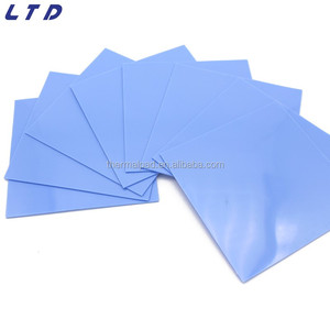 2w Thermal conductivity silicone soft rubber thermal pad cpu cooling pad