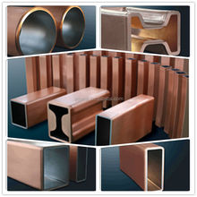 copper mould tubes for continuous casting machine