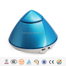 Hairong Pyramid Shaped Portable Wireless Mini Bluetooth Speaker