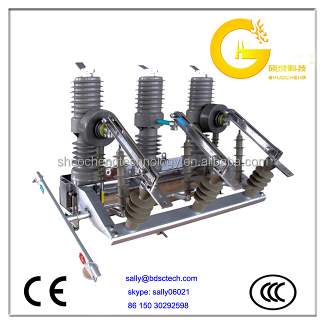 630A 12kV Vacuum Circuit Breaker with Disconnector auto recloser