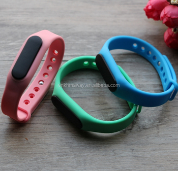 Smart Bluetooth Beacon Recharge iBeacon WristBand With Accelerometer