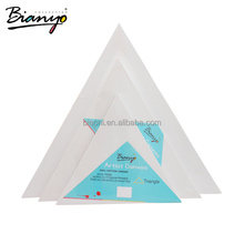 Bianyo 280g 100% Cotton Triangle Stretch Painting Canvas