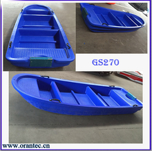Cheap Small Poly Plastic Boat Fishing Boat for Sale