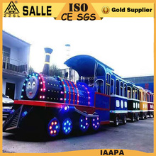 kids indoor games equipment amusement park projects amusements rides electric tracks train for sale