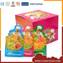 Halal pizza gummy vitamins candy supplier