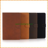 Retro PU leather case for ipad mini 1 2 3, flip leather case for ipad mini 1 2 3
