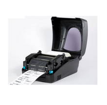 Direct thermal transfer mini barcode label printer from VTR