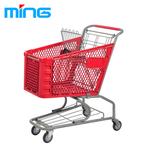 Plastic Grocery Shopping Cart Plastic Shopping Trolley