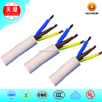 3 cores 1.0mm2 Heat Resisting Silicone Rubber multicore wires and cables