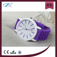 newest sports watches rubber band pupular in Europe promotional silicone watch