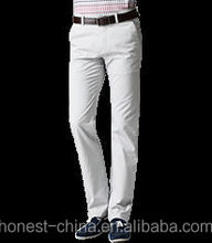 2016 fashion-design best selling high quality cotton garment wash chino pants