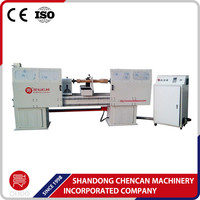 3d turning cnc wood lathe machine for baseball bat making
