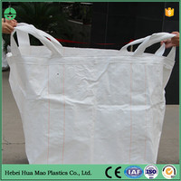 UV Resistant PP Flexible Container Bag 1 Ton Jumbo Bag For Building Material Packing