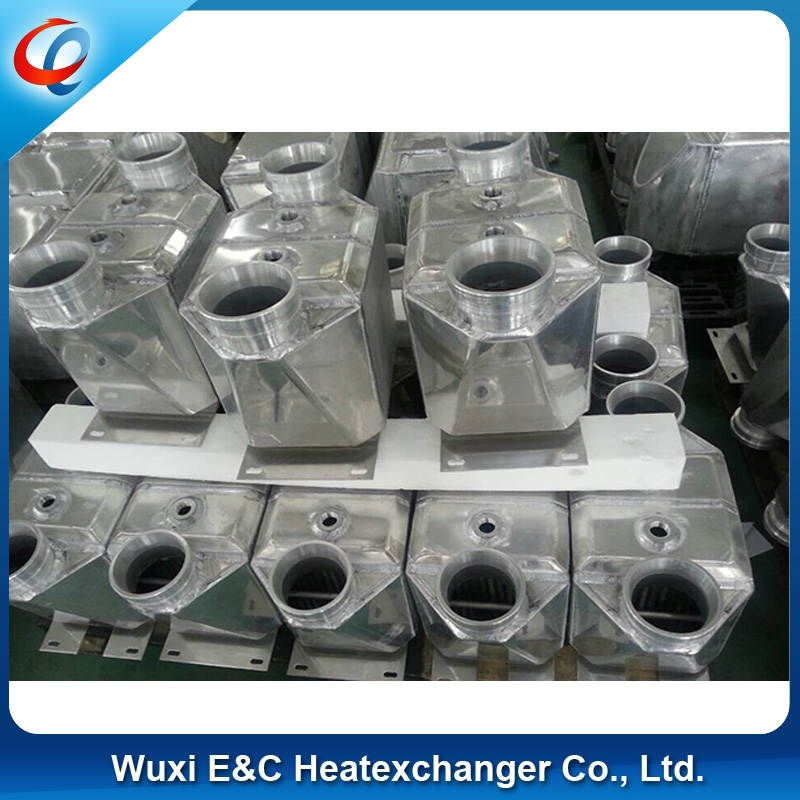 aluminum gas to water intercooler for car use