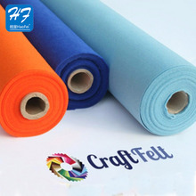 Hot Popular 1Mm 2Mm 3Mm Thickness Polyester Non Woven Felt