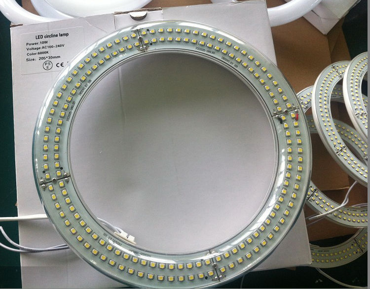 Plastic 10W 12w 18w 20w 22w 25W SMD2835 round circular tube led light 205mm 225mm 300mm 375mm
