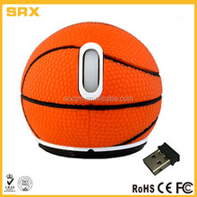 custom make Basketball Wireless Computer Mouse in factory price