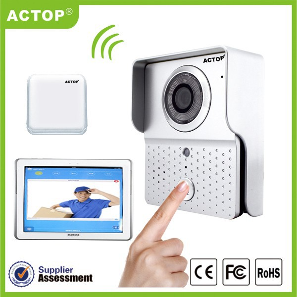 ACTOP Color Wifi Video Hand Phone, Offer App Free Of Charge For iPhone, Ipad And Andriod Phone