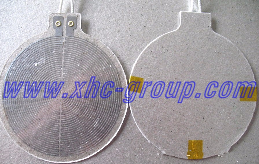 etching circuit Mica heating element / heater for hair dryer