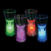 color changing led shot glass