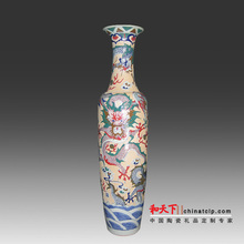 antique japanese jingdezhen ceramic decorating design vase