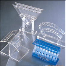 Acrylic cosmetic display with 3 tiers