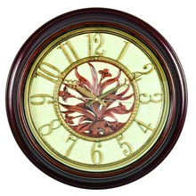 Imitation wood wall clock B8193-13
